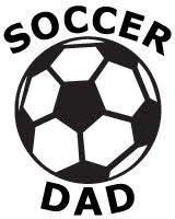 Soccer Dad Vinyl Car Decal Mymonkeysticker Com