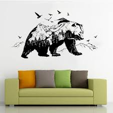 Painting Supplies Wall Treatments Wall Decal Quote Words Lettering Decor Sticker Wall Vinyl Explore Bear Travel Mountains Forest Theme Kids Room Decor Nature Beer Nursery Wall Stickers Murals Brigs Com