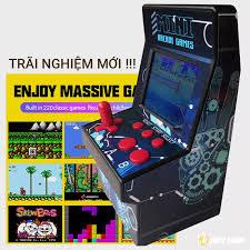 Bộ máy chơi game thùng siêu thị Arcade Games Console 16 Bit 220 game VT722