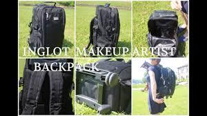inglot makeup artist backpack with