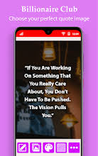 billionaires club quotes photo maker apl di google play
