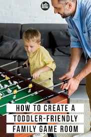 Toddler Proofed Family Game Room Ideas Hello Nature