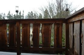 Live Edge Fence Designed And Built By Inhabiture Www Inhabiture Com Fence Design Building Design Design Build Firm