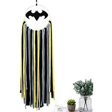 Amazon Com Alynsehom Dream Catcher Kids Bedroom Bat Dream Catchers Batman Wall Decor Large Dreamcatcher Halloween Patry Decorations Hanging Baby Room Ornament Gift Home Kitchen