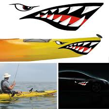 Graffiti Stickers Shark Teeth Mouth Vinyl Decal Stickers For Kayak Canoe Dinghy Boat Cool Motorcycle Skateboard Luggage Decorative Decals For Walls Decorative Stickers From Raoying8888 7 97 Dhgate Com