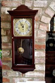 vintage metamec wall clock with