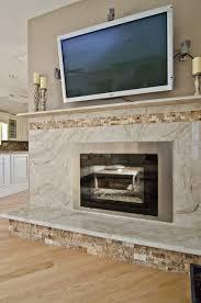 taj mahal quartzite fireplace surround