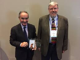 """Priscilla Butler on Twitter: """"Drs Treves and Fahey accepting the 2017  Butterfly Award from @ImageGently. #RSNA17 @ImageWisely… """""""
