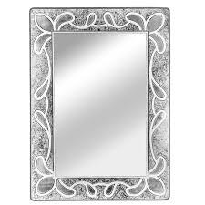 wall mounted glass mirror