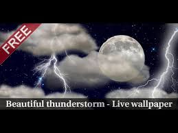the real thunderstorm live wallpaper