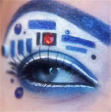 eye makeup puts star wars avengers