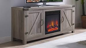 fireplace tv stands on