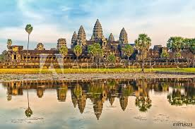 Angkor Wat Sticker Wall Decals Wallsheaven Preto Perola
