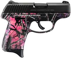 ruger 3243 lc9s 9mm muddy camo