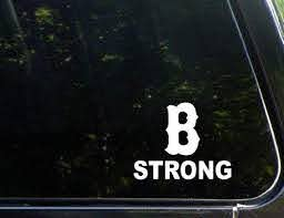 Amazon Com B Strong Decal Boston Small Die Cut Decal For Helmets Hard Hats Text Books Cells Phones Windows Cars Trucks Laptops Etc Kitchen Dining