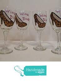 leopard shoes wine diva wine glasses