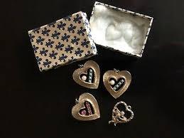 heart pendants vine jewelry lot