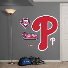 Mlb Philadelphia Phillies P Realbig Logo Fathead Wall Graphic Wall Graphics Philadelphia Phillies Phillies