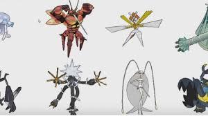 Pokémon Sun and Moon Ultra Beast Stats