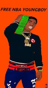 cartoon nba youngboy supreme wallpaper