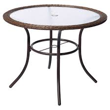 spruce hills patio dining table