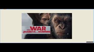 Streaming War for the Planet of the Apes Il pianeta delle scimmie ...