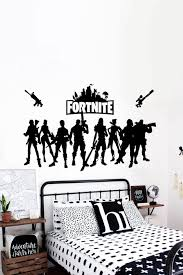 Fortnite Wall Decal Fortnite Vinyl Sticker Gaming Sticker Wall Decal Decor Art Boys Game Room Boys Bedrooms Kids Bedroom Boys