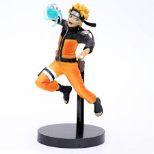 Naruto Anime Figures Uzumaki Naruto Rasengan Shippuden Model Toy PVC Model  Action Figural Collector Naruto Doll Brinquedos Figma|Action & Toy Figures