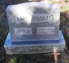 John Wesley McDonald (1851-1915) - Find A Grave Memorial