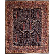 afghan carpet with persian bakhshaish