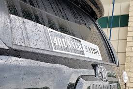 4runner Nation Large Decal Front Or Rear Windshield Decal