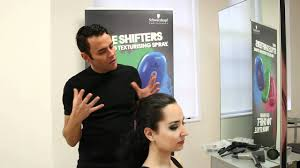 Schwarzkopf Professional's OSiS Style Shifters 1 Demonstration by ...