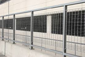 Palmshield Is Excited To Announce Our New Bar Grating Railing And Fence Systems American Fence Company Lincoln Ne