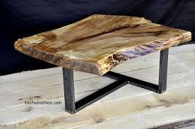furniture and live edge wood