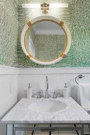 powder room is fitted with a serena