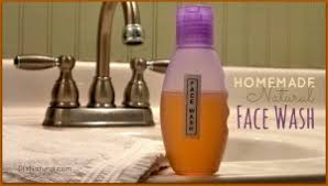 homemade face wash a natural chamomile