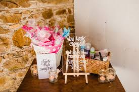 wedding bathroom basket checklist