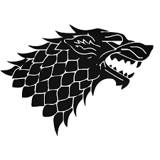 Game Of Thrones House Stark Vinyl Decal Sticker