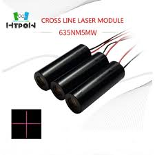 laser module 5mw 635nm cross hair laser