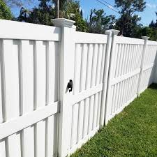 Weatherables Largo 6 Ft H X 8 Ft W White Vinyl Privacy Fence Panel Kit Pwpr Panel 6x8 The Home Depot