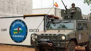 Misión Militar de la UE en República Centroafricana, Misión de España