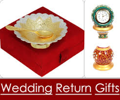 indian wedding return gifts from