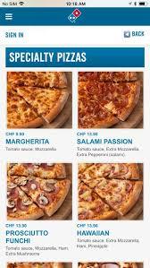 switzerland by domino s pizza gmbh