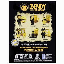 Bendy and the Ink Machine Ink Bendy Buildable Figure 2.5