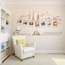 Large Size Wall Decal Creative Combination World Travel Wall Stickers For Home Decoration Ay9011 Stickers For Home Wall Stickerwall Sticker World Aliexpress