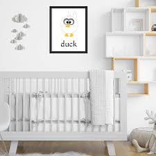 Baby Room Wall Art Animals Babies Nursery Toddler Room Etsy