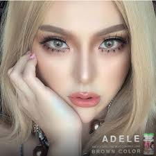 Pretty Doll ADELE BROWN contact lens AUTHENTIC from KOREA | Shopee ...