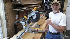 Miter Saw Stand With A Kreg Precision Trak Stop System Diy Youtube