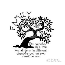 new family like branches on a tree we all grow in different