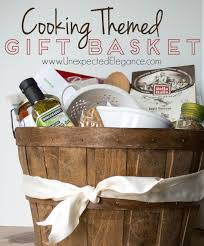 cooking themed gift